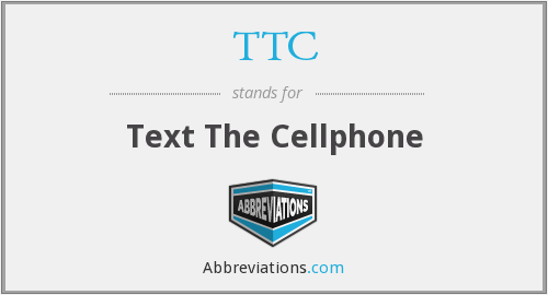 TTC - Text The Cellphone