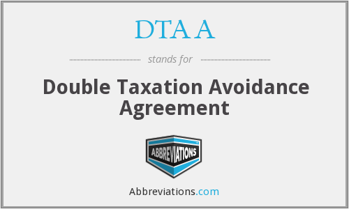 What is the abbreviation for double taxation avoidance agreement platinumwayz
