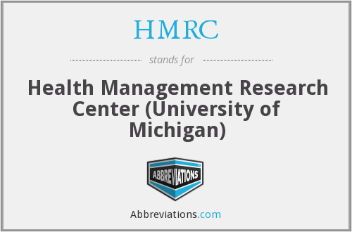HMRC - Health Management Research Center (University of Michigan)