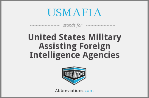 What does USMAFIA stand for?