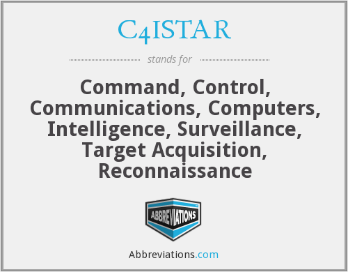 What does C4ISTAR stand for?