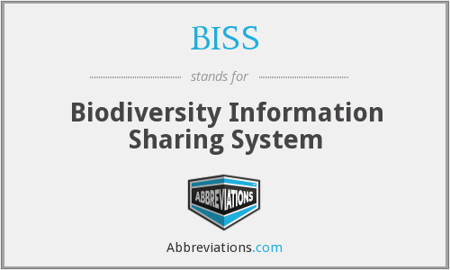 BISS - Biodiversity Information Sharing System