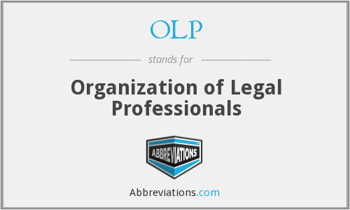 OLP - Organization of Legal Professionals
