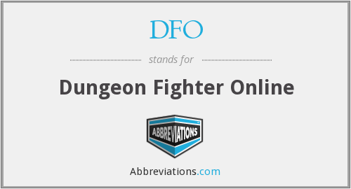 DFO - Dungeon Fighter Online