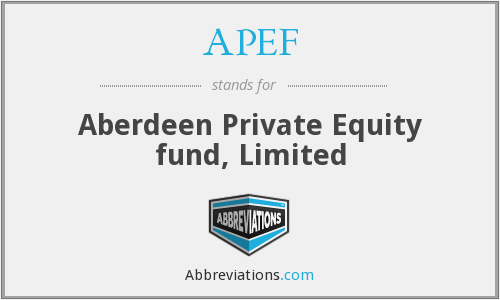 What does APEF stand for?