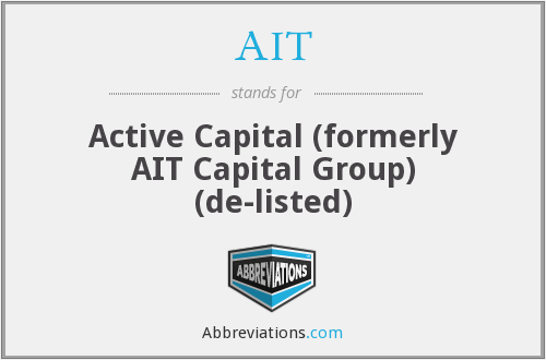 AIT - Active Capital