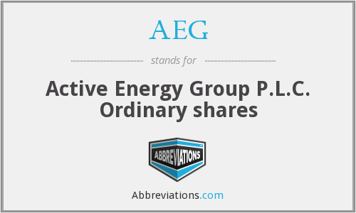 AEG - Active Energy