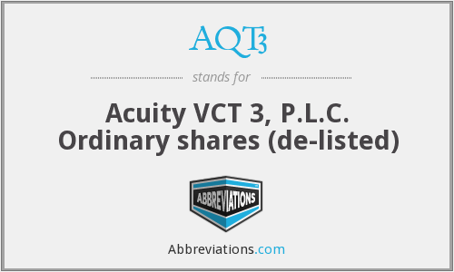 AQT3 - Acuity Vct 3