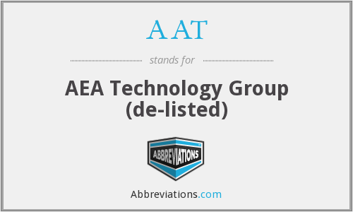 AAT - Aea Tech Grp