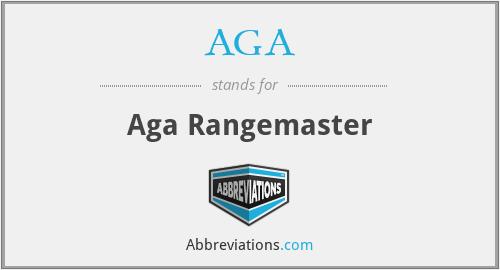 AGA - Aga Rangemaster