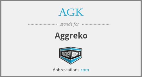 AGK - Aggreko