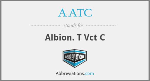 AATC - Albion. T Vct C