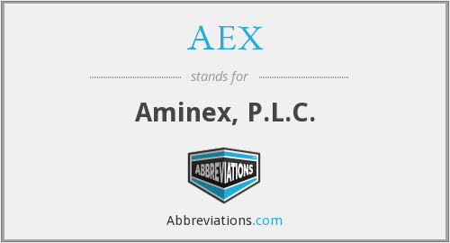 AEX - Aminex, P.L.C.