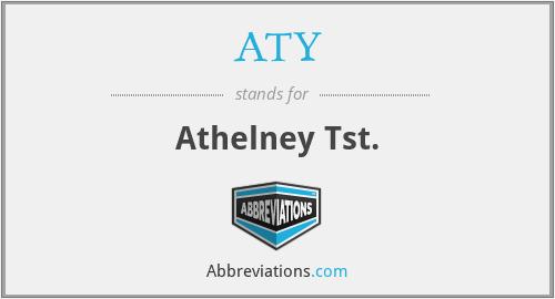 ATY - Athelney Tst.
