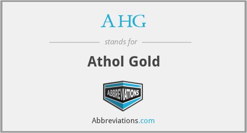 AHG - Athol Gold