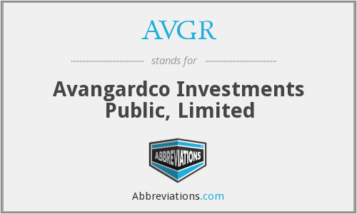 What does AVGR stand for?