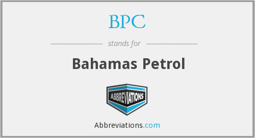 BPC - Bahamas Petrol