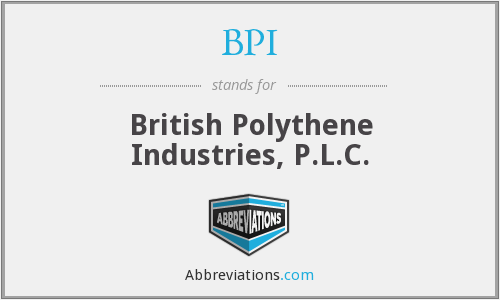 BPI - British Polythene Industries, P.L.C.