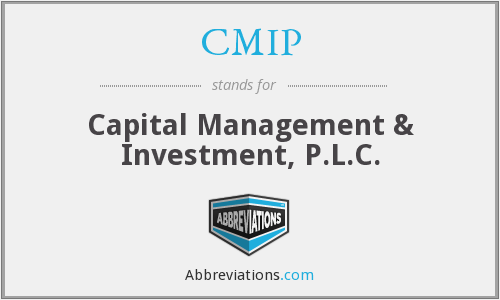 CMIP - Capital Management & Investment, P.L.C.