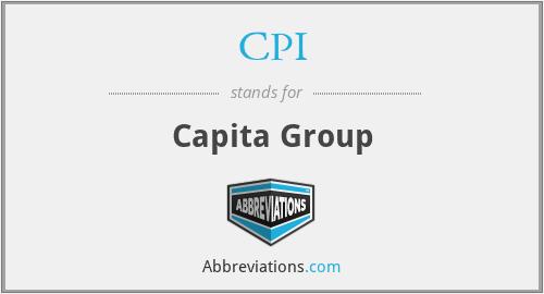 CPI - Capita Group