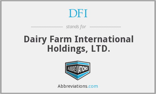 DFI - Dairy Farm International Holdings, LTD.