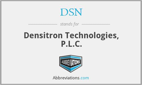 DSN - Densitron Technologies, P.L.C.