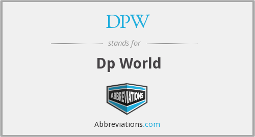 DPW - Dp World