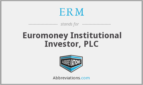 ERM - Euromoney Institutional Investor, PLC