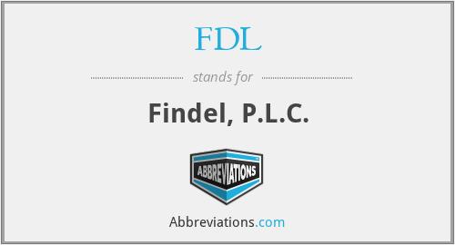 FDL - Findel, P.L.C.