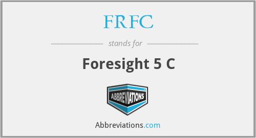 FRFC - Foresight 5 C