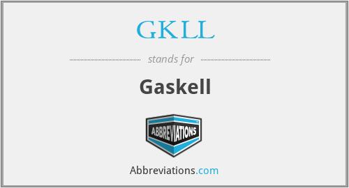 GKLL - Gaskell