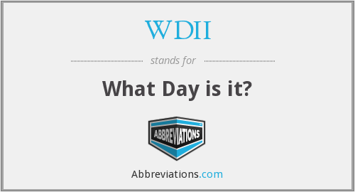 What does WDII stand for?