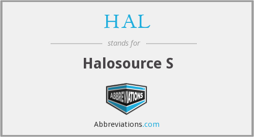 HAL - Halosource S