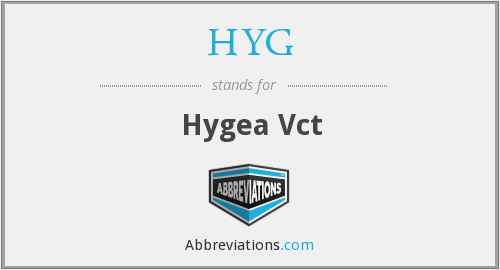 HYG - Hygea Vct
