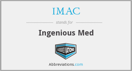 What does IMAC stand for?
