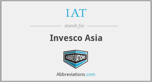 IAT - Invesco Asia
