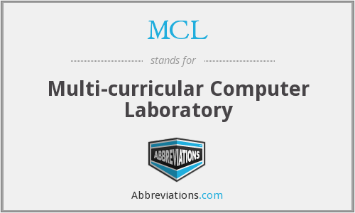 MCL - Multicurricular Computer Lab