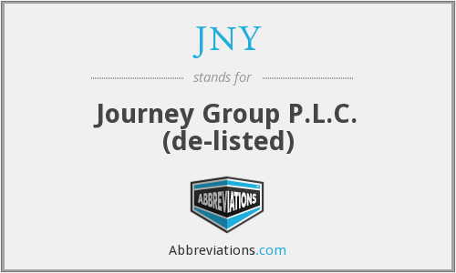 JNY - Journey Grp