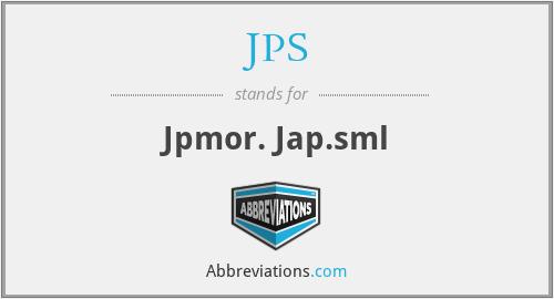 JPS - Jpmor. Jap.sml