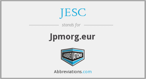 What does JESC stand for?