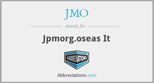 JMO - Jpmorg.oseas It