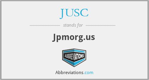 JUSC - Jpmorg.us