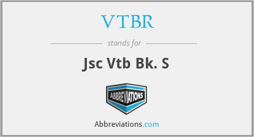 VTBR - Jsc Vtb Bk. S