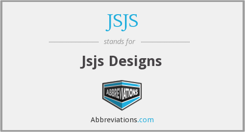 What does JSJS stand for?