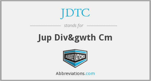 JDTC - Jup Div&gwth Cm