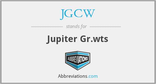 JGCW - Jupiter Gr.wts