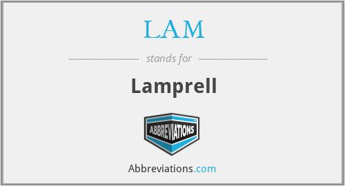 LAM - Lamprell