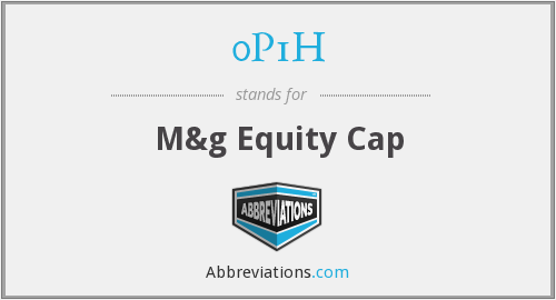 0P1H - M&g Equity Cap