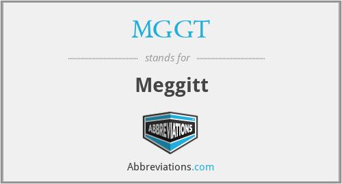 MGGT - Meggitt