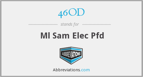 46OD - Ml Sam Elec Pfd